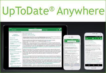 Noves sessions! UpToDate Anywhere: aplicacions mòbils per a iOS i Android